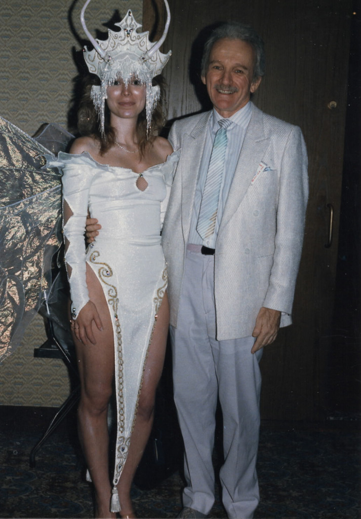William Ware Theiss and myself from about 1991. Photo: Bob Pinaha.