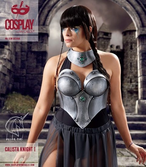 Busting Out Worbla, Cosplay by McCalls Calista Knight I and Carpathia