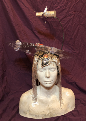'Oumuamua Starman Headpiece, an Adventure in Old School Headpieces and Polycarbonate